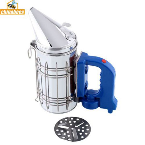 Electric Stainless Steel Bee Smoker Beekeeping Equipment