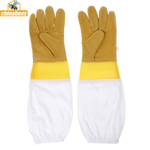 Beekeeping Gloves Breathable Mesh Protective