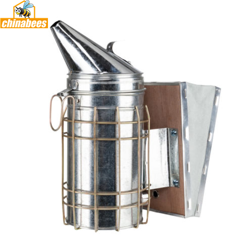 Galvanized  Bee Smoker Heat Shield