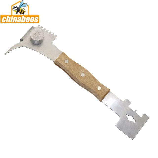 Multi-functional Stainless Steel Beekeeping Tool