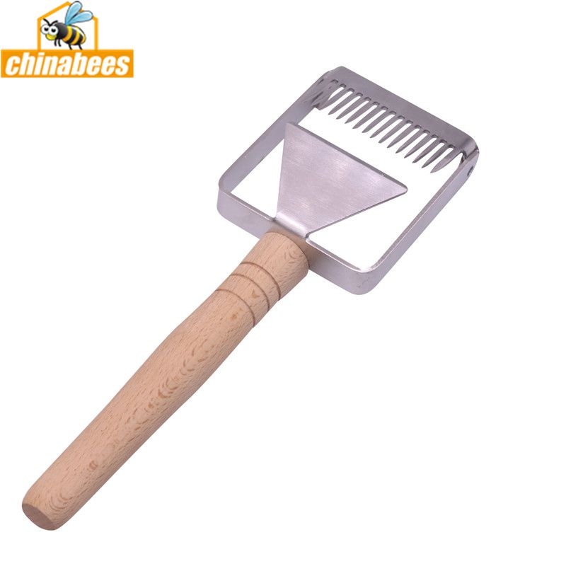 Stainless steel 2 in 1 Cut Uncapping Fork Scraper