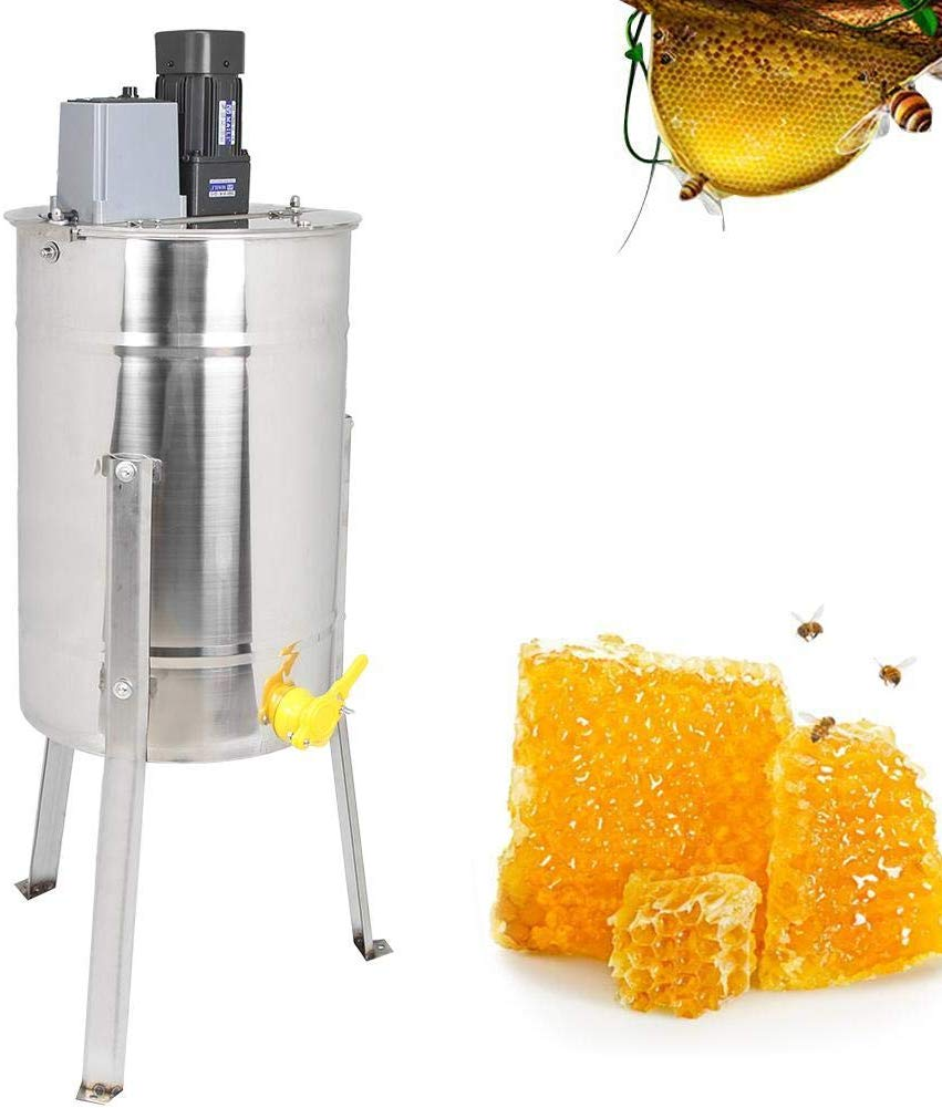 Stainless Steel 3 Frame Electric Bee Honey Extractor